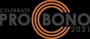 Celebrate Pro Bono 2021 Logo