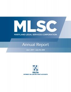 MLSC Annual Report Cover